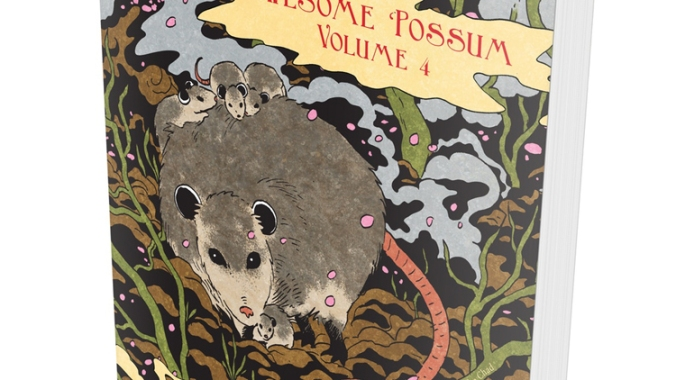 Weekly roundup april 20 2018 paper cat press awesome possum volume 4 is now funding volume 4 on kickstarter angela boyle a natural science illustrator and cartoonist has curated and edited 35 fandeluxe Choice Image